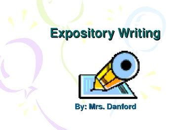 What is Expository Writing? - Definition & Examples